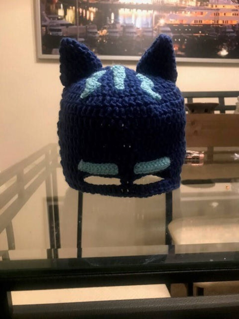 Catboy-Inspired Hat and Tail | Crochet hats for boys, Crochet hats ... | 1059x794