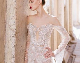 Mermaid wedding dress | Etsy