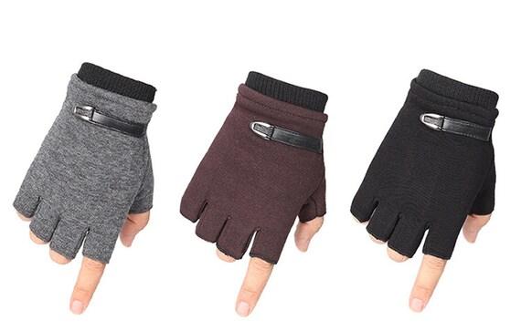 Half Finger Gloves Fingerless for 7-9 Years Children Children Cloth Stylish