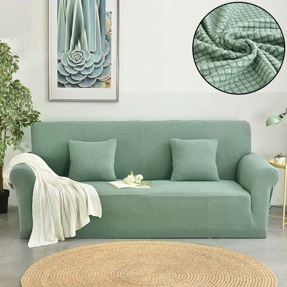 Fine Sofa Slipcover Stretch Couch Cover Sectional Loveseat Slip Cover L Shaped Armchair 2 3 Seater Recliner Spandex Fitted Sofa Protector Inzonedesignstudio Interior Chair Design Inzonedesignstudiocom