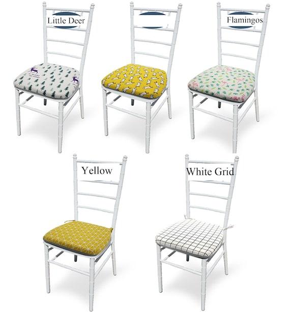 Memory Foam Chair Cushion With Ties, Memory Foam Chair Pads With Ties