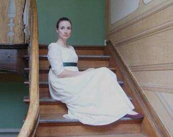 Regency dress // Jane Austen dress // Regency drawstring dress - MADE TO ORDER