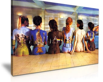 Pink Floyd Back Catalogue Canvas Wall Art Picture Print 76cmx50cm