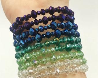 Ombre Wrap Bracelet
