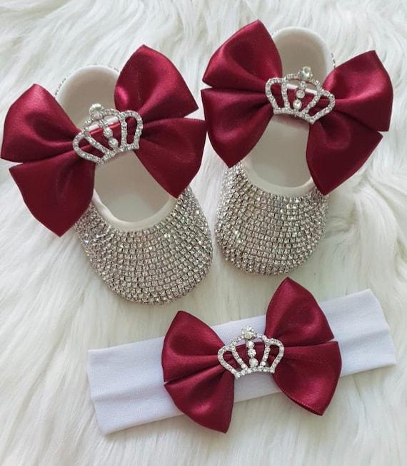 Baby Girl Swarovski Crib Shoes Baby