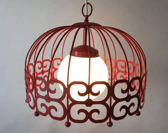 VINTAGE HANGING LAMP 1970