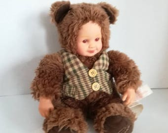 ANNE GEDDES Vintage Teddy bear