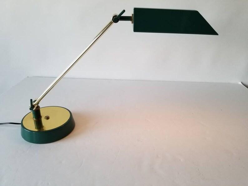 1970 VINTAGE Adjustable BUREAU LAMPE