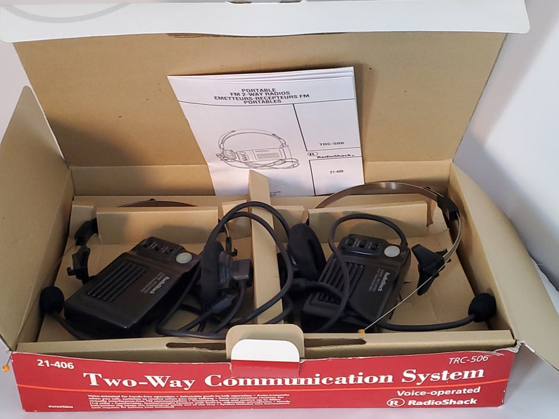1980 COMMUNICATION 2 VOIES IN ca Box