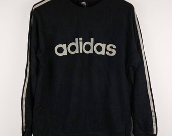 Vintage Adidas EQT equipo Sudadera / longsleeves Jumper /