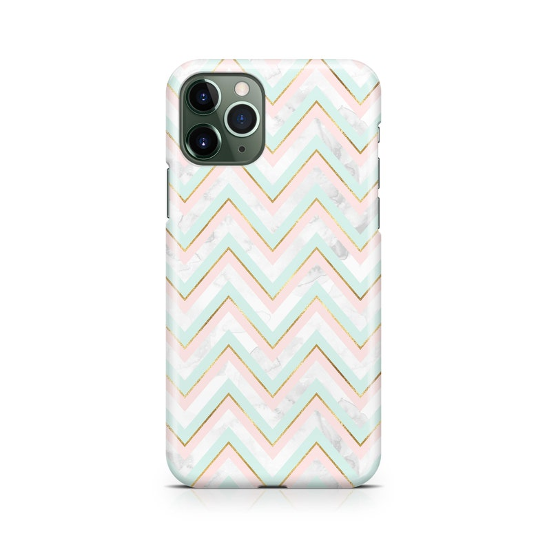 Mint Pink Gold IV Case iPhone 12 Pro Max Galaxy S20 Plus ...