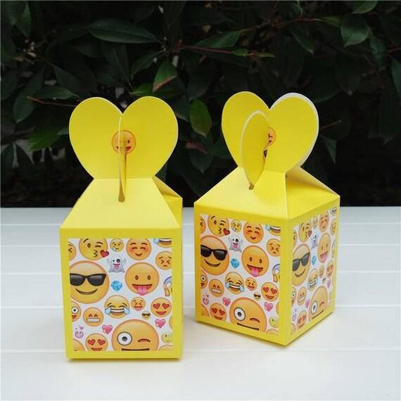 Emoji Birthday Party Favor Emojis Kids Favors