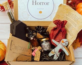 Horror Gift | Horror Gift Set | Horror Movie Gift | Horror Gift Set | Witch Gift | Horror Hamper | Book Lovers | Halloween Gift | Halloween