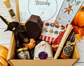 Witch Gift Set | Witchy Gift Set | Magic Gift | Halloween Gift | Halloween | Magic Gift Hamper | Horror Gifts | Witch Gifts | Christmas Gift