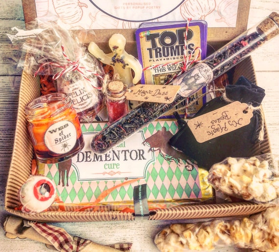 Harry Potter Christmas Gifts.Personalised Harry Potter Inspired Gift Magic Gift Hamper Birthday Gift Wedding Christmas Gift Set Halloween Gift Christmas Gifts Her Him
