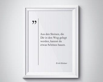 Goethe Quote Goethe Poster Deutsche Zitaten German Quotes Etsy