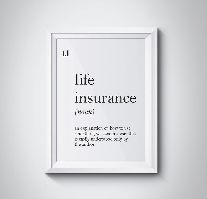 Life Insurance Definition Insurance Agent Gift Insurance ...