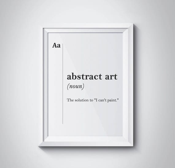 Defiition Of Abstract Art