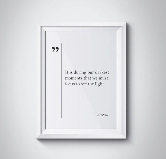 Aristoteles Zitat Aristoteles Druck Motivierende Kunst Aristoteles Wand Kunst Aristoteles Poster Inspirierende Kunst Skandinavischen Großen Zitate