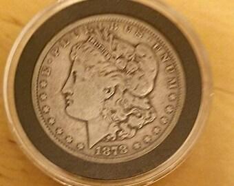 1878cc carson city morgan silver dollar, solid Fine coin rare desired date