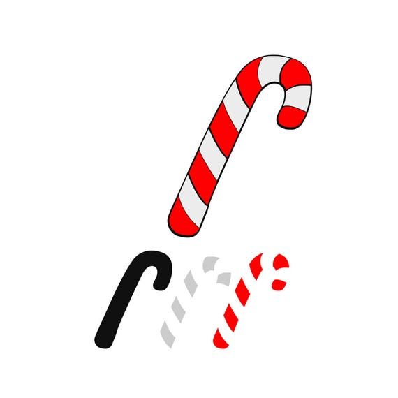 Christmas Candy Png.Christmas Candy Cane Svg Design Cutting File Also Includes Png For Cricut Design Space And Silhouette Studio Commercial Use