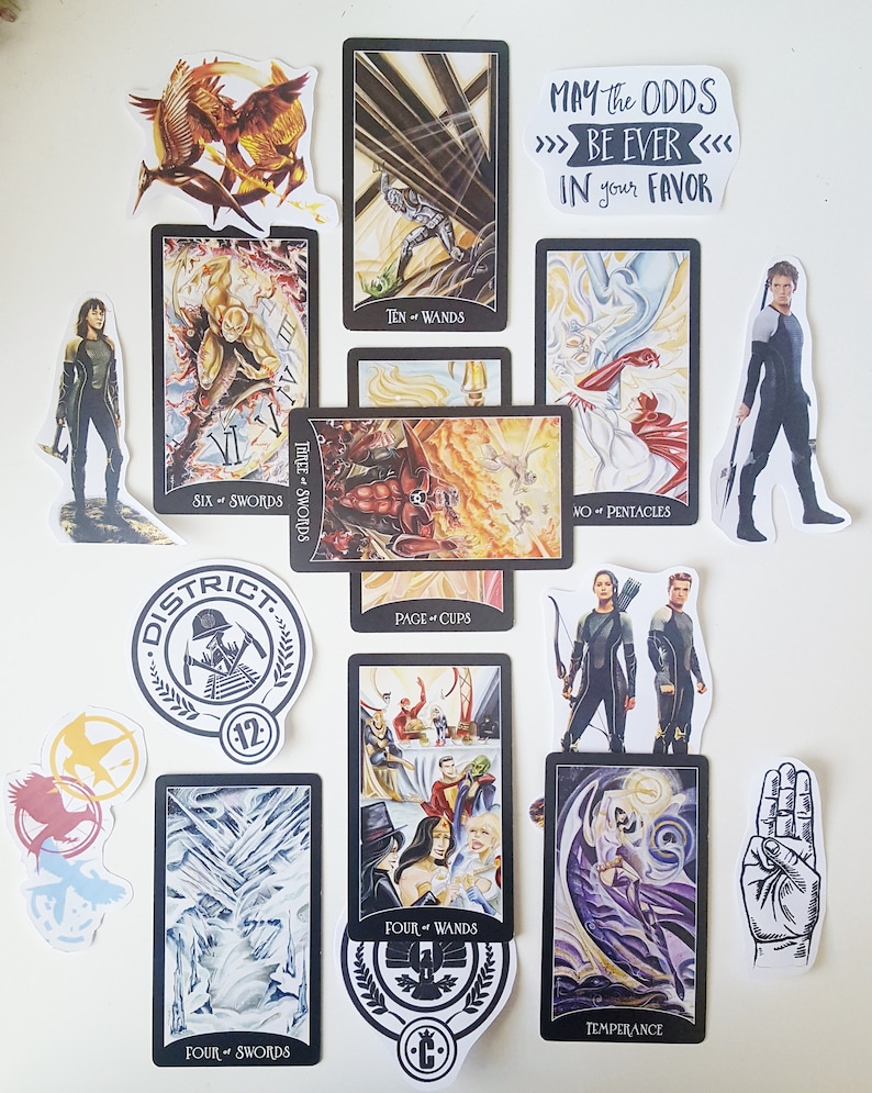 Hunger Games Tarot Reading May the Odds Be Ever in Your Favor