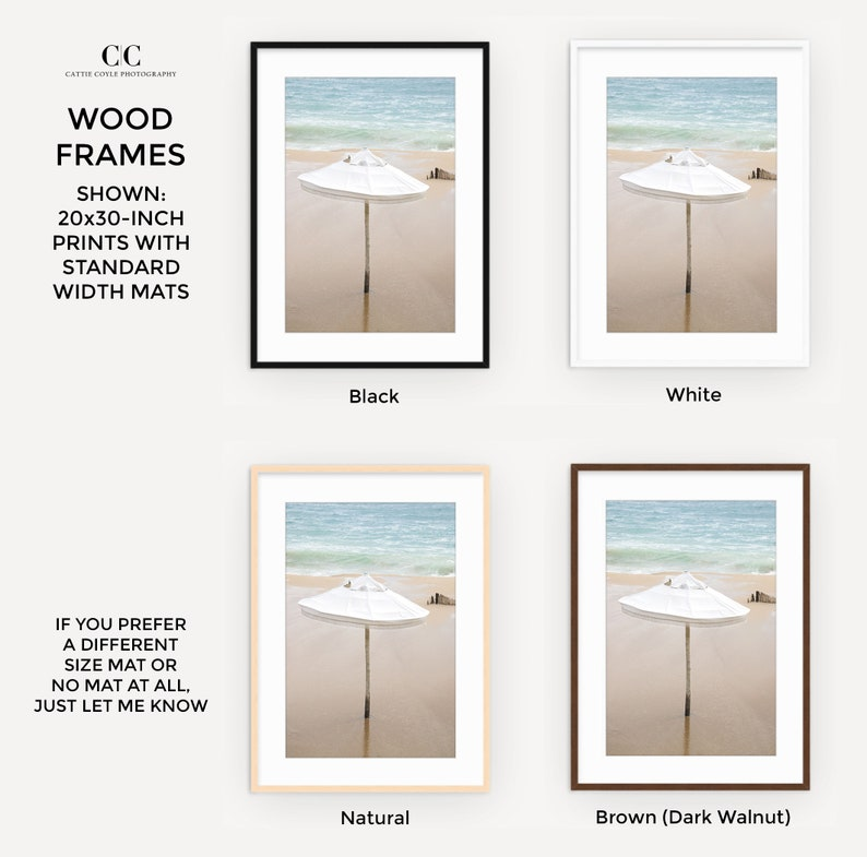 Warm Neutral Color Palette for Bedrooms Large Framed Coastal Wall Art Beach Photography Art Print Oversized Beach House Wall Decor