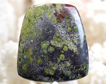 cabochon natural stone Jaspe Dragon Blood 72 carats Australia  BJ4