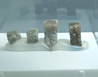 4 x Narsarsukite 1.2 grams - Greenland