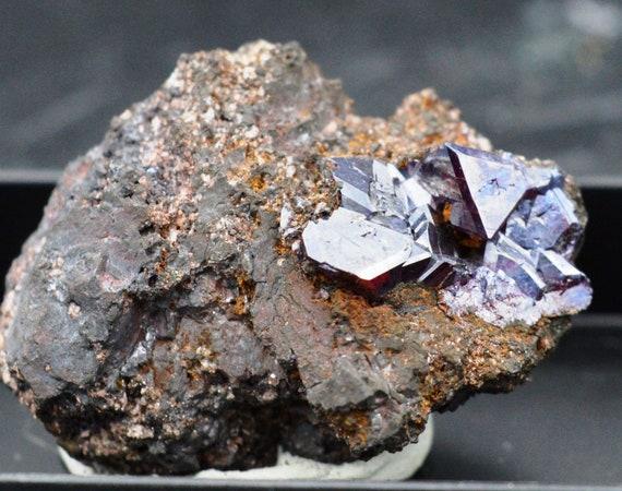 Micromount Cuprite - Cuprite Micromount - Tsumeb Mine, Otavi Highlands, Namibie 288205