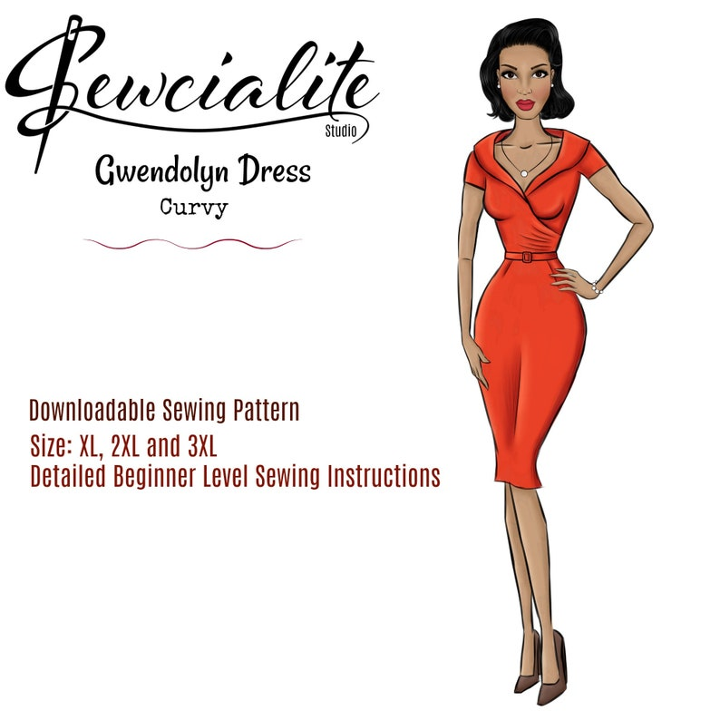 1950s Inspired Plus Size Dresses