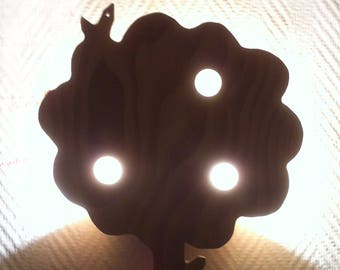 "French Wall Light - ""Tree"" solid wood"