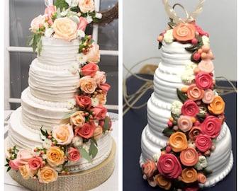 Custom Wedding Cake Ornaments