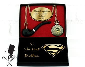 Brother Gift Personalized Christmas From Sister Birthday Of The Bride Idea Big Bro