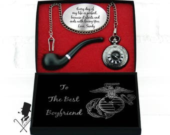 Boyfriend Personalized Gift For Marine Christmas Birthday Long Distance Anniversary