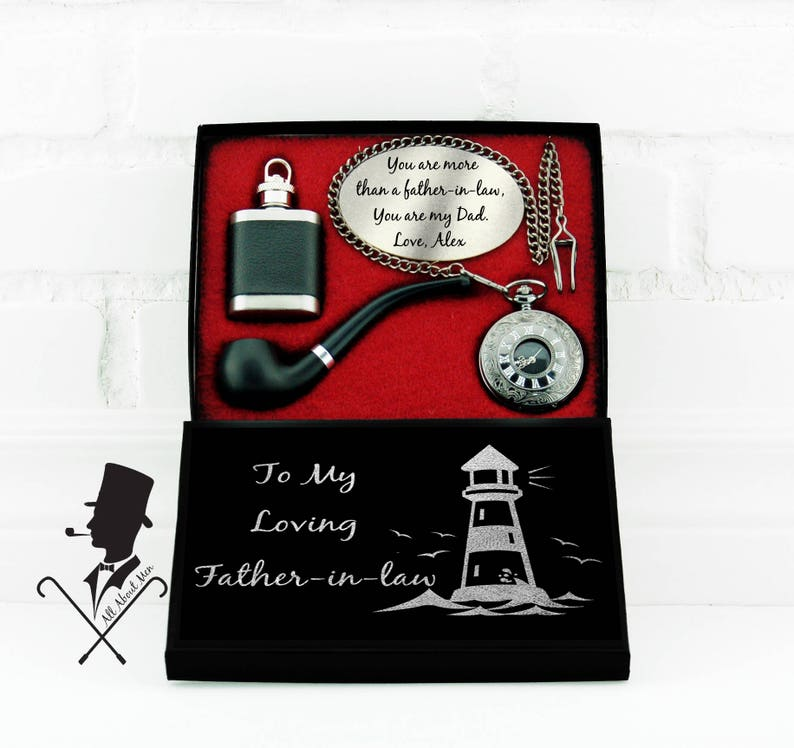Personalized Father In Law Gift Birthday