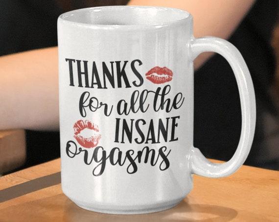 Valentines Day Gift for Him Sexy Gift for Him Kiss Mug Husband Gift Boyfriend Valentines Day Gift for Boyfriend Valentines Gift for Him