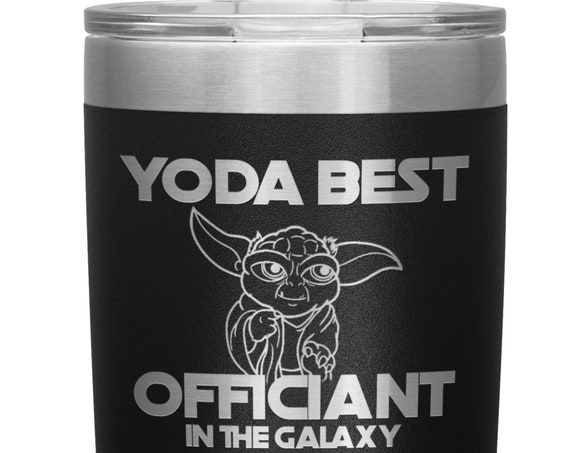 Best Officiant Proposal Tumbler Gift for Wedding Officiant Coffee Mug Youre the Best Officiant in the Galaxy Thank You Gift for Him