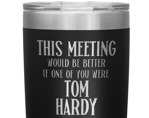 Tom Hardy Tumbler Fan Gift for Coworker Office Gifts for Men and Women Work Mug Gift for Best Friend