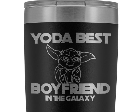 Best Boyfriend In the Galaxy Gift for Men Valentines Day Gift for Him Engraved Tumbler Funny Coffee Mug Large Mug for Men Youre The Best