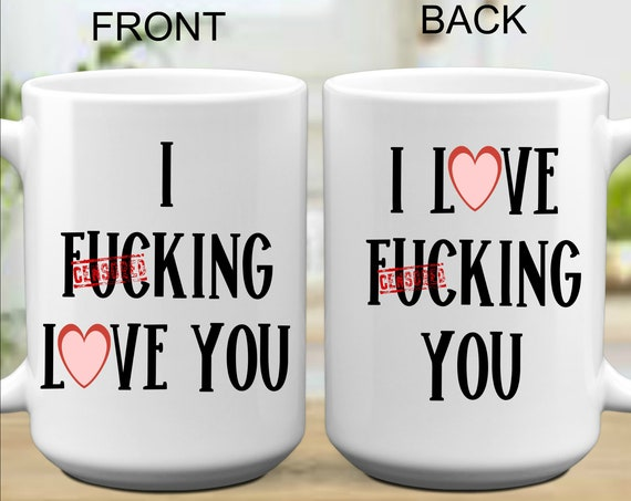 I Fucking Love You Valentines Day Gift for Wife Anniversary Gift for Husband Gifts for Him Birthday Gift for Girlfriend or Boyfriend Gifts
