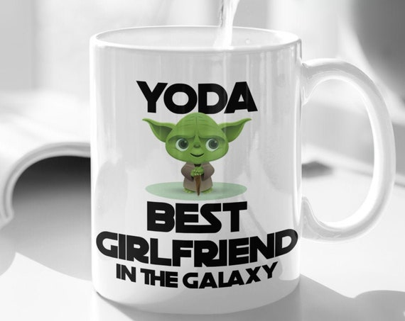 Yoda Best Girlfriend Mug Valentines Day Gift for Girlfriend Gifts for Her Yoda Mug for Girlfriend Birthday Gift from Boyfriend Funny Mug