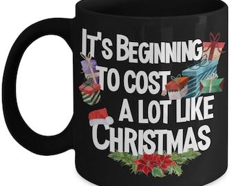 Funny Christmas Mug Holiday Gift for Men Mugs for Women Office Mug Coworker Gift Holiday Decor