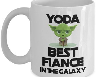 Yoda Best Fiance Gift For Mug Funny Fathers Day Gifts Birthday Novelty Coffee Gag Men