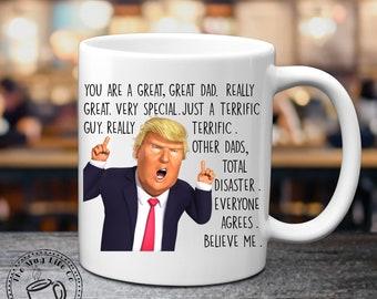 Donald Trump Dad Mug Gift for Fathers Day Mug Trump Gift For Dad Birthday Gift Trump Mug MAGA Gag Gifts For Men Funny Trump Mug for Men  sc 1 st  Etsy & Dad birthday gift | Etsy