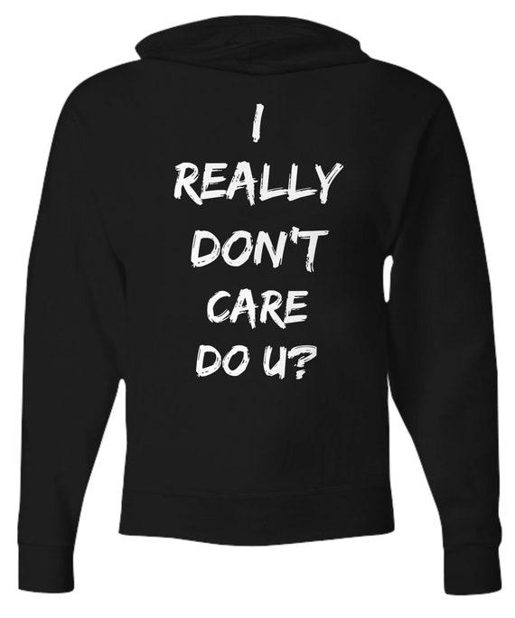 Melania Trump Jacket I Really Don't Care Do U Hoodie For Men Melania Trump Hooded Sweatshirt Trendy Womens Clothing Immigration Controversey