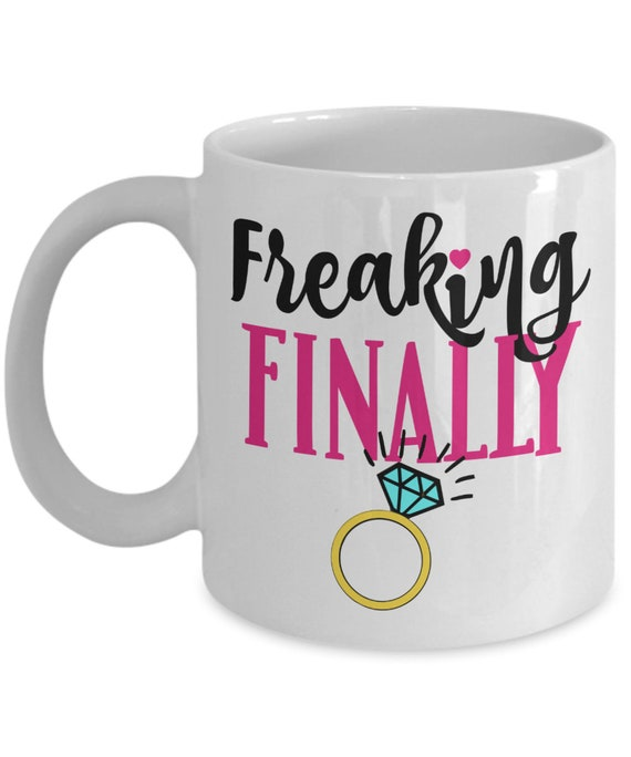 Engagement Mug for Newly Engaged Sister Gift for Women Engagement Gift for Best Friend Future Mrs Bride To Be Mug Engagement Party Gift Mug
