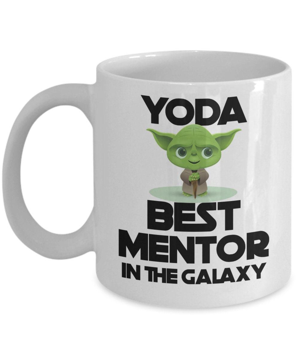 Yoda Best Mentor Mug Funny Gift For Appreciation Men