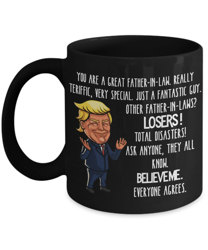 2e9f97098db ... Trump Father in Law Gift for Father-in-Law Mug for Fathers Day image ...