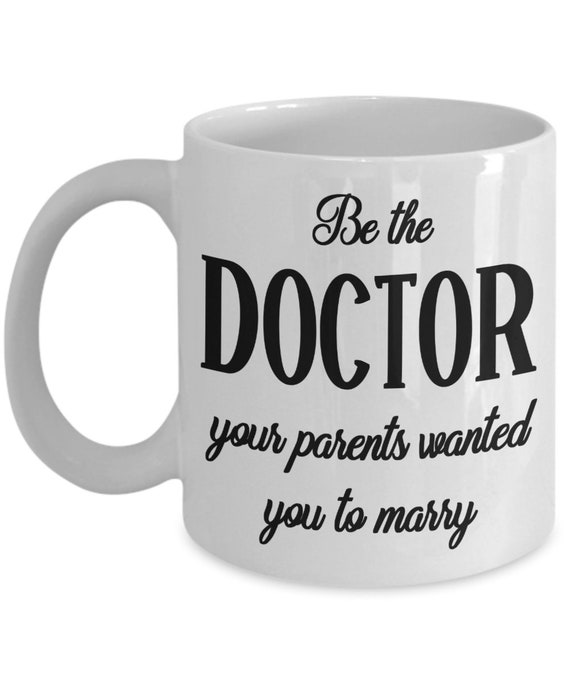 College Graduation Gift For Her Future Doctor Mug Doctorate Doctoral Medical Student Gift for Women Empowerment Large Coffee Mug Feminist